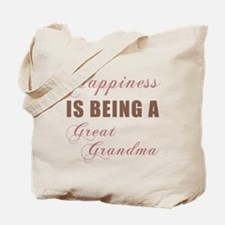 Great Grandma (Happiness) Tote Bag