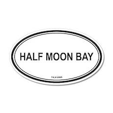 Half Moon Bay oval 20x12 Oval Wall Peel