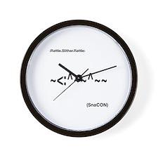 SnaCON Wall Clock