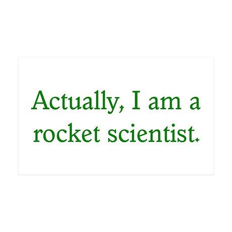 Rocket Scientist 35x21 Wall Peel