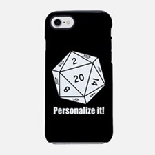PERSONALIZED D20 Graphic iPhone 7 Tough Case