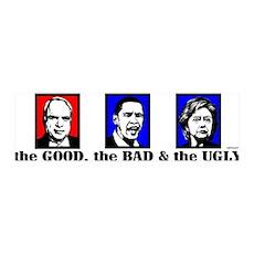 The Good, Bad & Ugly 36x11 Wall Peel