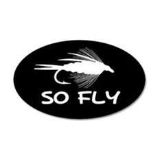 SO FLY - 20x12 Oval Wall Peel
