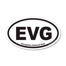 EVG Everglades National Park Euro 20x12 Oval Wall