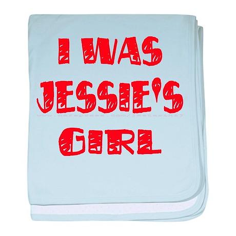 Jessie's Girl baby blanket