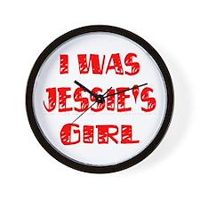 Jessie's Girl Wall Clock