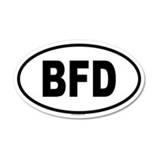 BFD 20x12 Oval Wall Peel