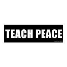 Teach Peach 36x11 Wall Peel