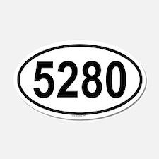 5280 20x12 Oval Wall Peel