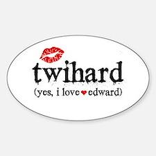 TwiHard Sticker (Oval)