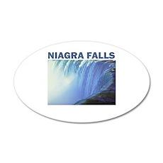 Niagra Falls 20x12 Oval Wall Peel