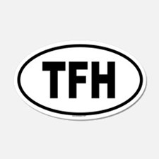 TFH 20x12 Oval Wall Peel