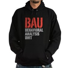 BAU Behavioral Analysis Unit Criminal Minds Hoodie