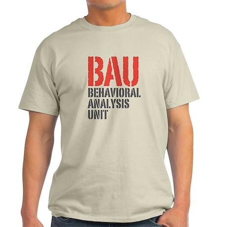 BAU Behavioral Analysis Unit Criminal Minds Light