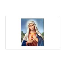 Immaculate Heart of Mary 20x12 Wall Peel