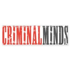 Criminal Minds Bumper Sticker