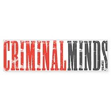 Criminal Minds Car Sticker