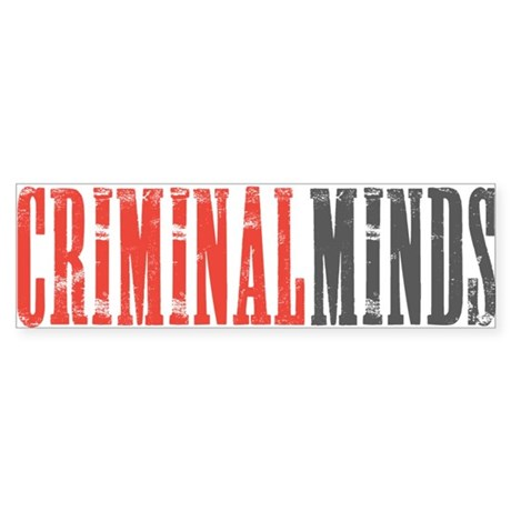 Criminal Minds Sticker (Bumper)