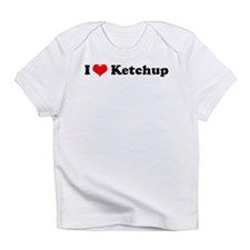 I Love Ketchup Creeper Infant T-Shirt