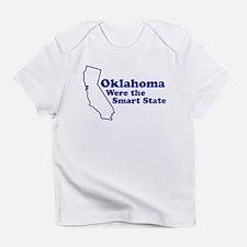 Oklahoma State Slogan Creeper Infant T-Shirt