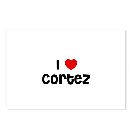 I * Cortez Postcards (Package of 8)