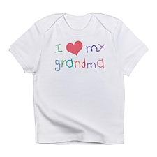 Kids I Love My Grandma Infant T-Shirt