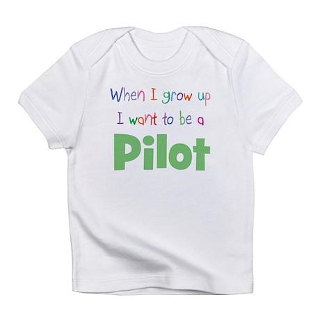 When I Grow Up Pilot Infant T-Shirt