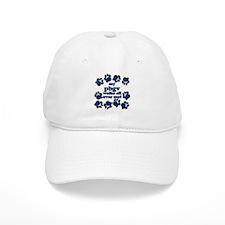 PBGV WALKS Baseball Cap