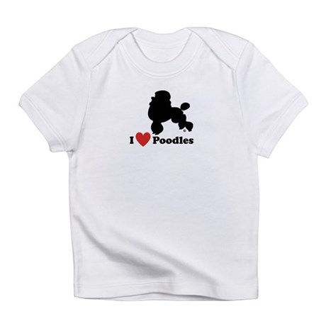 I love Poodles Creeper Infant T-Shirt