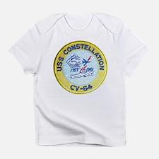 USS CONSTELLATION Creeper Infant T-Shirt