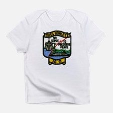 USS HUNLEY Creeper Infant T-Shirt