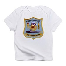 USS PATRICK HENRY Creeper Infant T-Shirt