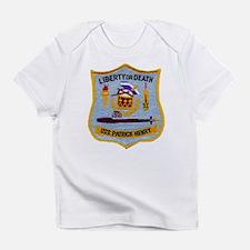 USS PATRICK HENRY Creeper Infant T-Shirt