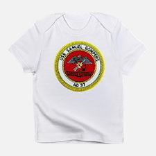 USS SAMUEL GOMPERS Creeper Infant T-Shirt