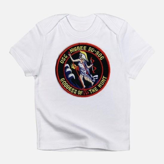 USS HIGBEE Creeper Infant T-Shirt
