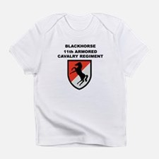 11TH ARMORED CAVALRY REGIMENT Creeper Infant T-Shi