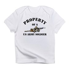 Property US Army Soldier Military Creeper Infant T