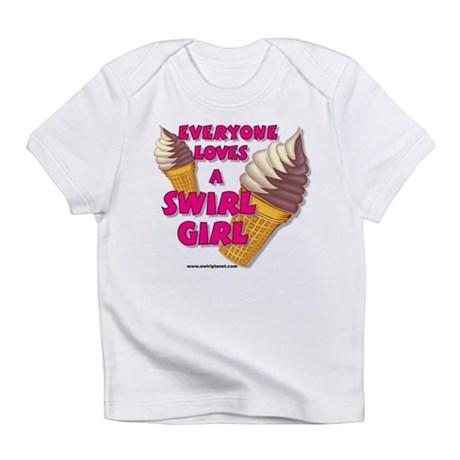 Swirl Girl Creeper Infant T-Shirt