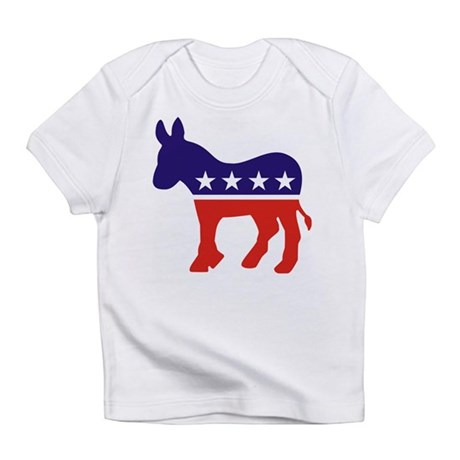 Democrat Donkey v4 Creeper Infant T-Shirt