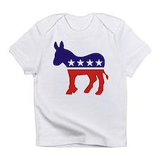 Democrat Donkey v4 Creeper Infant T-Shirt