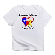Someone in Texas Loves me Creeper Infant T-Shirt