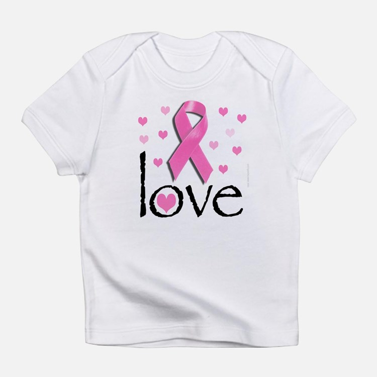 Breast Cancer Pink Ribbon Infant T-Shirt