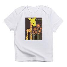 Giraffe - Smell the Flowers<br> Creeper Infant T-S