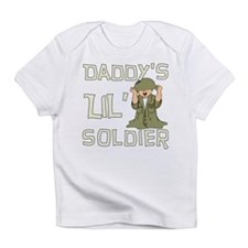 Daddy's Lil' Soldier Infant T-Shirt