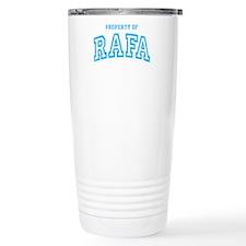 Property of Rafa Travel Coffee Mug