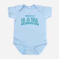 Property of Rafa Infant Bodysuit