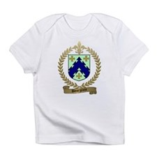 BOURGEOIS Family Crest Creeper Infant T-Shirt