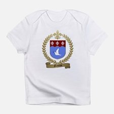 GELINAS Family Crest Creeper Infant T-Shirt