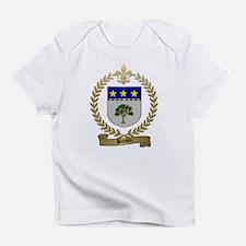 BREAUX Family Crest Creeper Infant T-Shirt