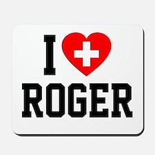 I Love Roger Mousepad